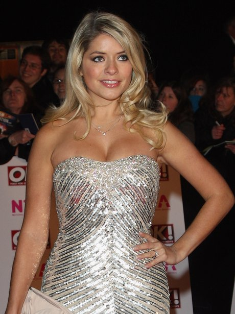 Holly Willoughby at the national tv awards
