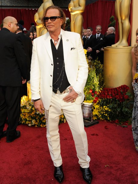 Mickey Rourke at The Oscars 2009