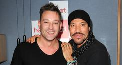 Toby Anstis and Lionel Richie
