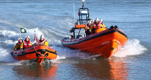Two lifeboats