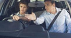 DVLA learner driver boy