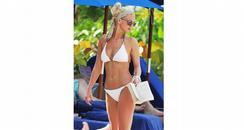 Sarah Harding bikini