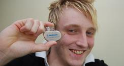 Andrew Morgan with Pacemaker