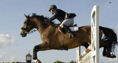Suffolk Show - horse jumping image