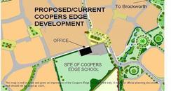Coopers Edge school map