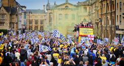 Oxford United parade