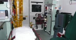 A look inside an ambulance