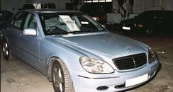 Car seized by Glos police