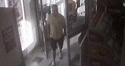 CCTV image of scammer