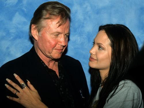 Jon Voight and Angelina Jolie - Celebrity feuds - Heart Mila Kunis Instagram