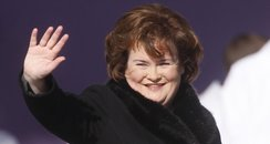 Susan Boyle performs at Bellahouston Park in Glasg