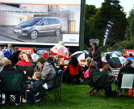 Ford Galaxy Summer Cinema