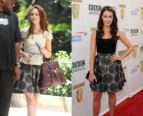 Leighton Meester vs Jessica Lowndes - Style snap!