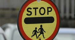 school crossing lollipop