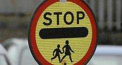 school crossing lollipop