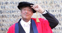 Stephen Fry recieves honorary doctorate