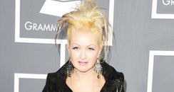 cyndi lauper at the Grammy Awards