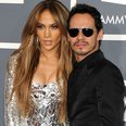 Jennifer Lopez and Marc Anthony at the Grammy Awar