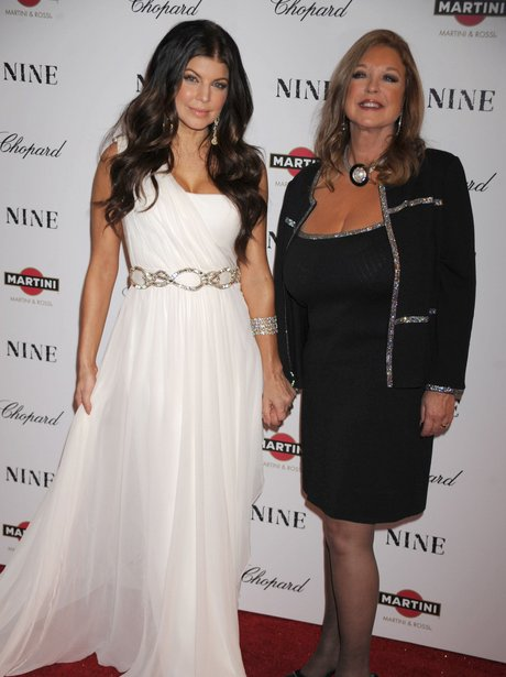 Celebrities and their mums
