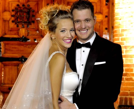 michael buble wedding