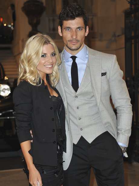 Mollie King and David Gandy