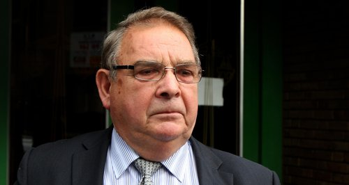 Lord Hanningfield arrives at court