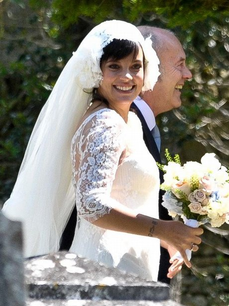 Lily Allen wedding picture