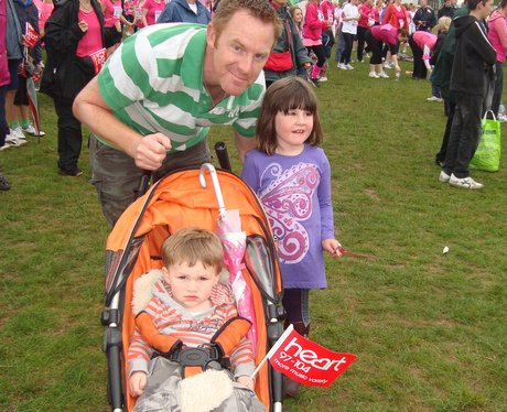 The Heart Angels paid a visit to Race For Life in