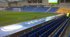 Pictures from the first match at the Amex Stadium