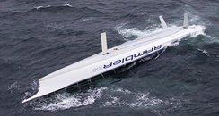 Rambler 100 capsized