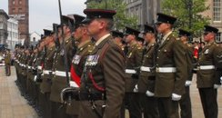 Soldiers in Birkenhead