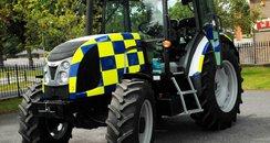 Dorset Police Tractor