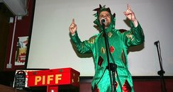 Piff the Magic Dragon performs