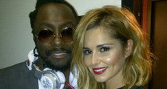 Will.I.am and Cheryl Cole on twitter