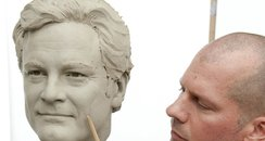 Colin Firth clay head