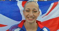 Synchronised Swimmer Hannah Green
