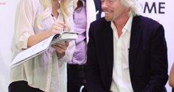 Zoe Jackson and Richard Branson
