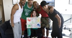 Milly Adkins With JLS