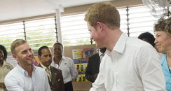 Prince Harry in Jamaica 2012