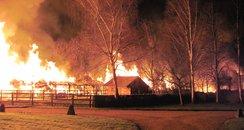 Denchworth Thatch Fire