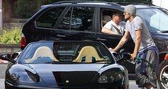 David Beckhams Car