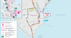 Weymouth Olympic 'Travel Hotspots'
