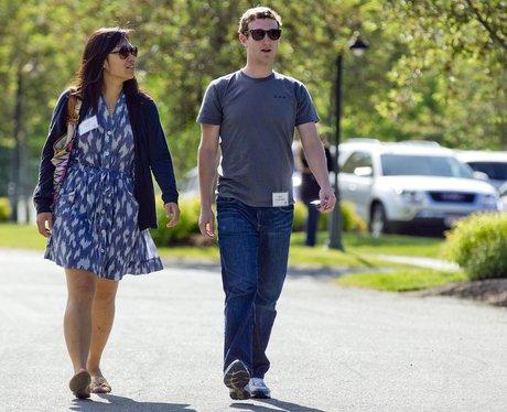 Mark Zuckerberg and Priscilla Chan wedding pictures