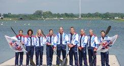 Olympic Canoe Team GB 2012