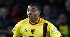 Watford Football Club striker Troy Deeney