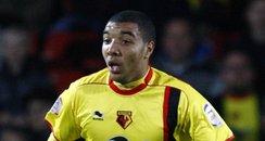 Watford Football Club striker Troy Deeney