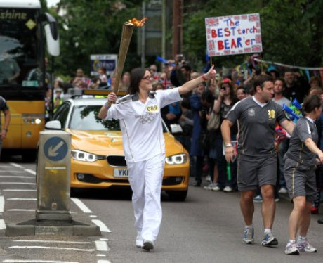 Olympic Torch St Albans