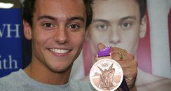 Olympic medalist Tom Daley