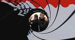Martin and Su James Bond