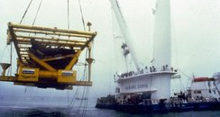 Mary Rose salvage 1982